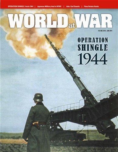 DG Decison Games World at War Magazine Dg  World At War Magazine 33, With Shingle, The Anzio Beachhead Jan.Mar. 1944, Board Game