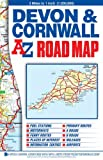 Devon & Cornwall Road Map.