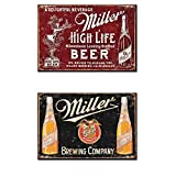 miller brewing company - Bundle: Two (2) Miller Brewing Company Magnets