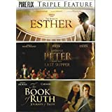 DVD - Triple Feature: Esther/Apostle Peter & Last Supper/Book Of Ruth (3 DVD)