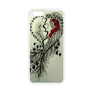 Feather YT012126 Phone Back Case Customized Art Print Design Hard Shell Protection IPhone 6 Plus