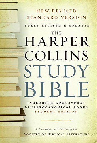 By Harold W. Attridge - HarperCollins Study Bible - Student Edition: Fully Revised & Upda (Rev Upd) (2006-09-06) [Hardcover]