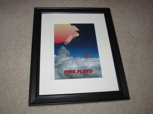 Framed Coliseum (Pink Floyd Animals Tour Oakland Coliseum CA May 1977 Framed Print 14