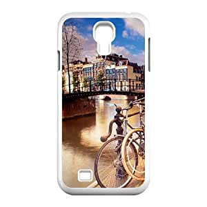 Samsung Galaxy S4 9500 Cell Phone Case Covers White amsterdam City rmxp