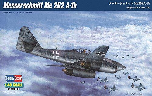 Hobby Boss Messerschmitt Me 262A-1b Airplane Model Building Kit ()