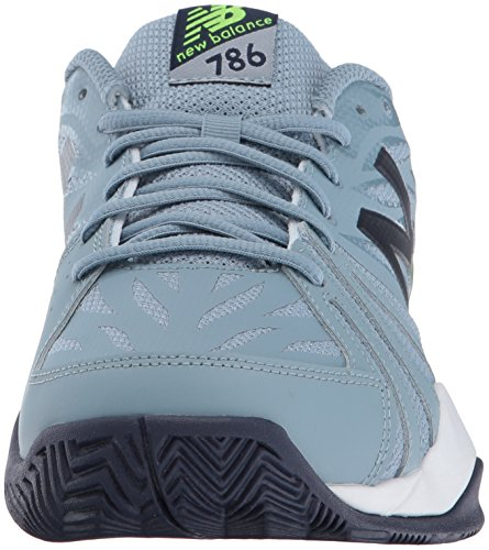 New Balance Herren 786v2 Tennis-Schuhe Grau / Energy Lime
