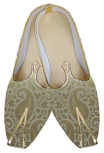 Designer Shoes MJ0116 Golden Groom Mens INMONARCH EwxPvfqX
