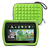 LeapFrog Epic 7' Android-based Kids Tablet 16GB with Carrying Case, Green