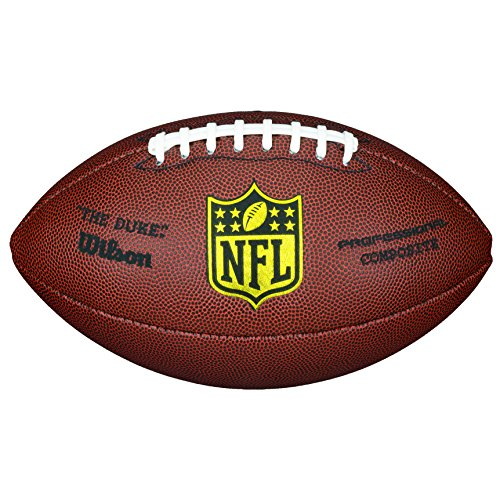 Wilson NFL Pro Replica Game Football (Official Size)]()