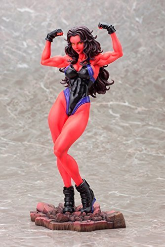 San 1/7 Scale Pvc Figure - Kotobukiya Comic Con limited MARVEL Pretty MARVEL UNIVERSE Red Sea Hulk (1/7 scale PVC painted PVC Figure)