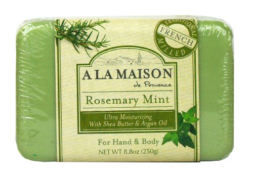 A la maison solid bar soap rosemary mint 8 8 ounce a for A la maison soap