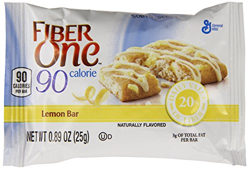 fiber one lemon bars - 1