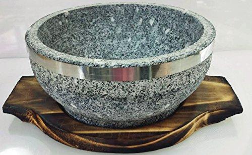 Soapstone Bowl (Natural Stone Bowl 24oz)