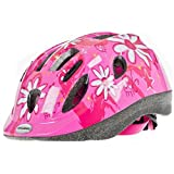 Raleigh Mystery Pink Flowers Girls Kids Bike Helmet (Small (48-54cm))