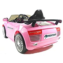 Kids Ride On - 12V Audi Style Sports Saloon (Pink) 2014 Model! by Smartway Trading