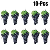 Artificial Grapes Decorative Fake Grapes Artificial Fruits Table Decoration Fruits Hanging Ornaments