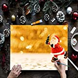 PHOENIX 30-Piece Canvas Painting Kit with 5 Pack