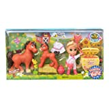 Country Kinz 67030-0CWM-1201 Honey Harvest with Friends Playset