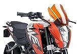 16 KTM 390DUKE: Puig Naked Generation Sport Windscreen (SMOKE)