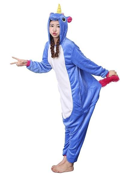 Nicetage Cosplay Costume Animal Jumpsuit Onesie Nightwear Sleepwear Adult  Unisex Kigurumi Pajamas Dark Blue XL  Amazon.co.uk  Clothing 6793ecef5