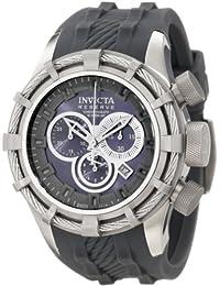 Invicta Men's Reserve Bolt Chronograph Gray Dial Gray Silicone Watch INVICTA-1223