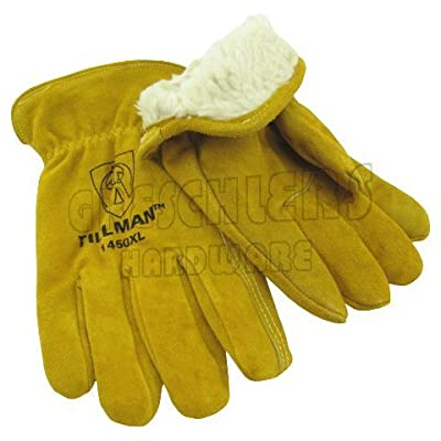 Tillman 1450 Split Cowhide Pile Lined Winter Gloves Medium
