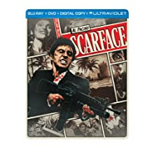 Scarface (1983) (Steelbook) (Blu-ray + DVD + Digital Copy + UltraViolet) (1983)