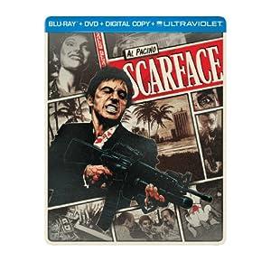 Scarface (1983) (Steelbook) (Blu-ray + DVD + Digital Copy + UltraViolet) (1983)