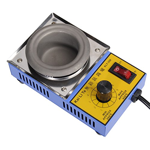 KLT-350 50mm 110V 150W Solder Pot Titanium Alloy Melting Soldering Pot