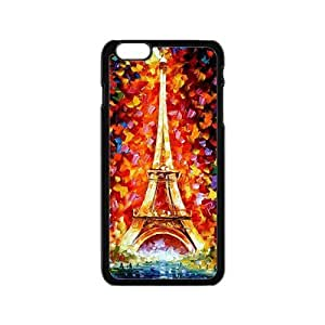 Colorful Eiffel Tower Phone Case for iPhone 6 by lolosakes