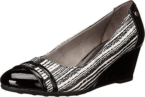 LifeStride Women's Juliana Black/White S - Striped Snake Shopping Results