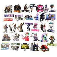 Hopasa Autocollants Fortnite pour Ordinateur Portable (100pcs), Cadeaux Fortnite pour Enfants, Garçons, Adultes, Forfaits, Voitures, Autocollants Fortnite Vinyle Skateboard