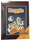 Hasbro Vintage Game Collection Wooden Box Board Game, Boggle - 2019 Version
