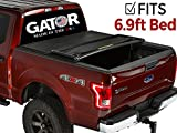 Gator Tri-Fold Tonneau Truck Bed Cover 2017-2018 Ford Super Duty F250 F350 6.9 FT Bed