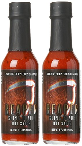 Cajohns Reaper Sling Blade Hot Sauce 5 oz - 2 Pack