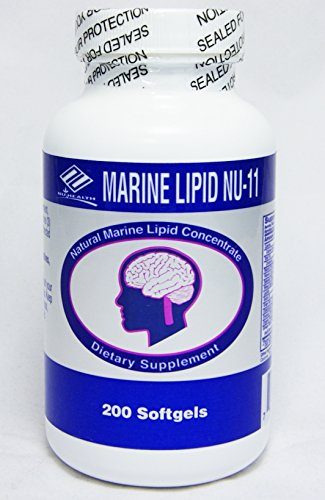 Marine Lipid Nu-11 in 1 Include : Fish Oil,soy Lecithin, Wheat Germ Oil, Selenlum Yeast, Garlic Oil, Grape Bark Extract, Vitamin E, Octacosand Powder, Evening Primross Oil, Orgenic Flaxseed Oil, Ginkgo Biloba Extract.