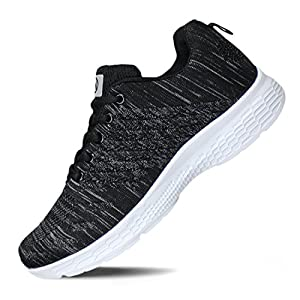 Hawkwell Women's Running Shoes Knit Breathable Lightweight Athletic Walking Sneaker 23