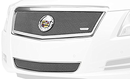 T-Rex 54173 Upper Class Polished Stainless Steel Finish Small Formed Mesh Grille Overlay for Cadillac XTS