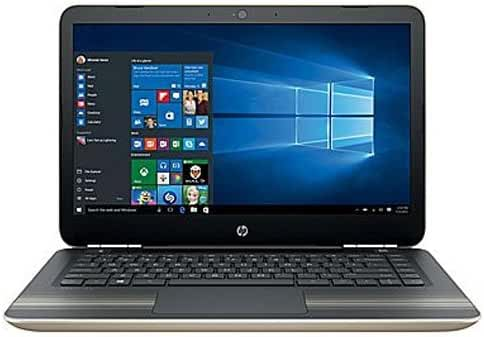 HP Pavilion 14-al061nr 14 Notebook - Core i3 6100U 2.3 GHz - 8 GB RAM - 1 TB HDD - Ash Silver/Modern Gold