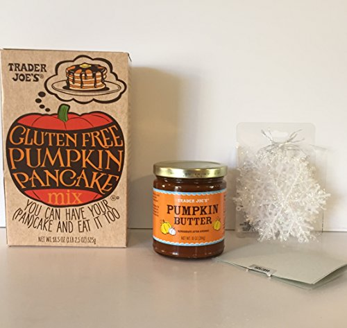 Trader Joe's Gluten Free Pumpkin Pancake Mix & TJ's Pumpkin (Chocolate Dutch Wine)