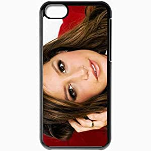 Personalized iPhone 5C Cell phone Case/Cover Skin Ashley Tisdale Black
