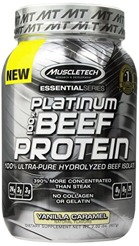 MuscleTech Platinum Protein Ultra Pure Hydrolyzed