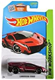 Hot Wheels 2015 Lamborghini Veneno (Red) - HW Workshop 189/250