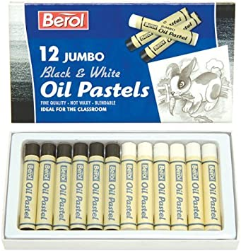 Berol Jumbo Oil Pastels Assorted Colours Pack of 12