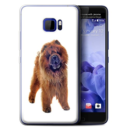 Chow Note - STUFF4 Gel TPU Phone Case/Cover for HTC U Ultra/Ocean Note/Chow Chow Design/Dog Breeds Collection