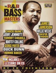 R&B Masters is a close examination of the legendary R&B bassists that shaped modern music. Explore the styles of Duck Dunn, Chuck Rainey, George Porter, James Jamerson, Jerry Jemmot, David Hood and many others through written examples...