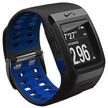 Nike+ SportWatch GPS powered by TomTom - Anthracite/Blue Glow
