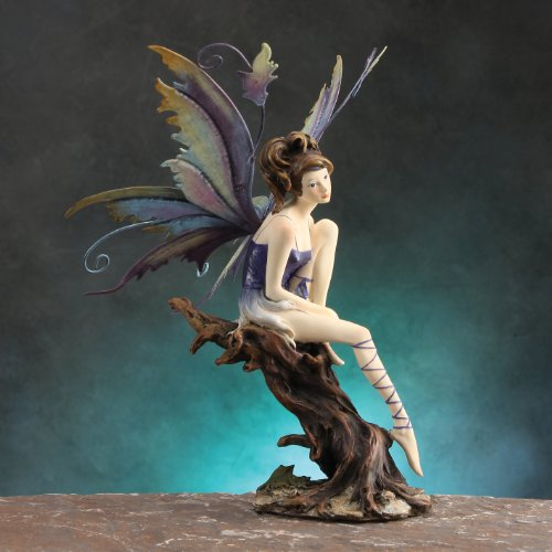 Gorgeous Collection Purple Figurine Decoration