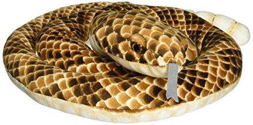 (Fiesta Toys Rattlesnake Rattle Snake Coiled Plush Stuffed Animal, 73