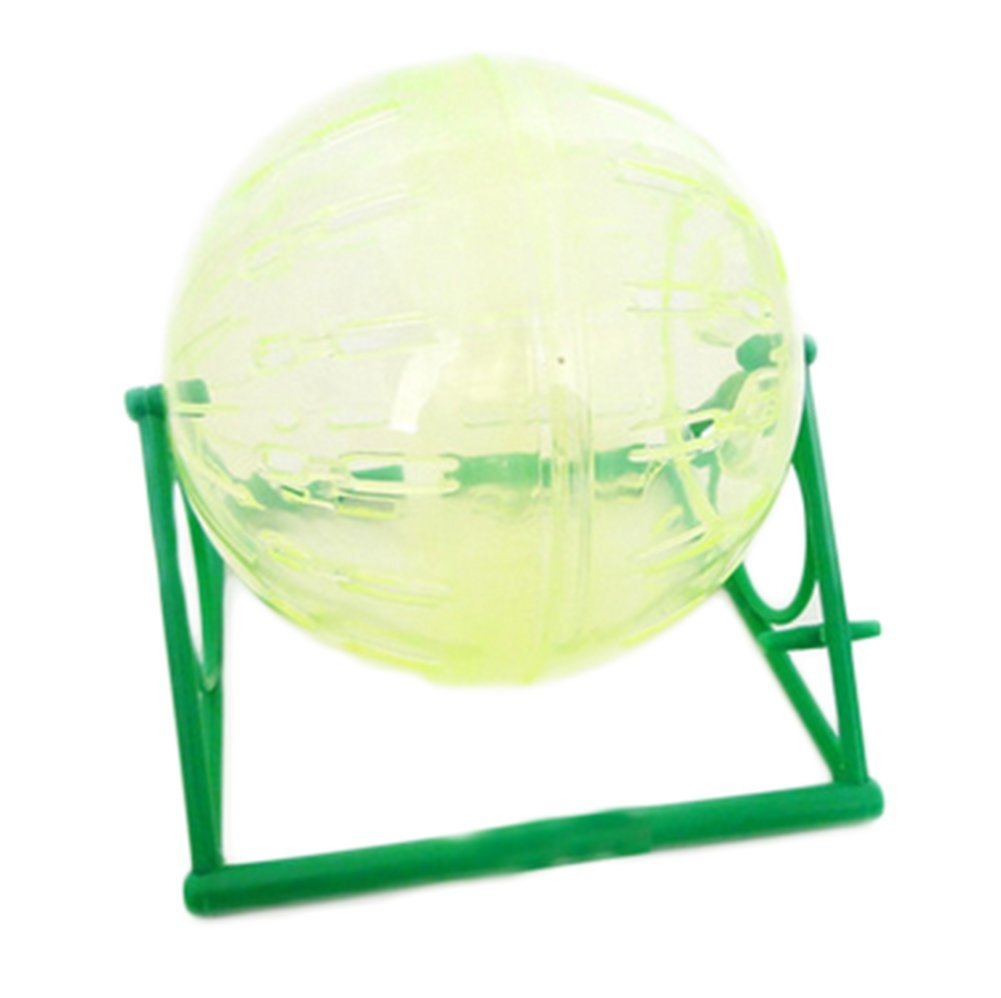1xToruiwa Hamster Ball Wheel Runner Ball Runner Exercise Ball for Hamsters Small Animal Activity Toy Random Color